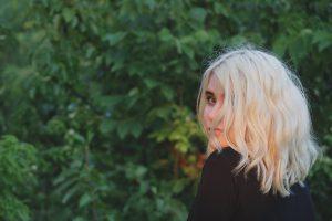 décoloration blonde