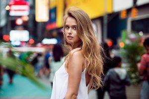 cheveux blonds naturels