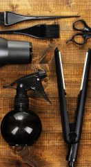 Coiffure à domicile : Le matériel et les produits à transporter chez le client