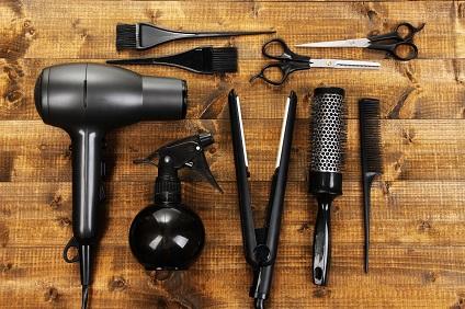 materiel coiffure a domicile