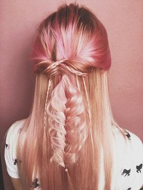 Cheveux pastel | Viadom professionnel
