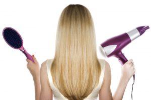 cheveux lisses technique