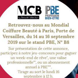 Viadom professionnel, partenaire de PBE au Mondial Coiffure Beauté 2019