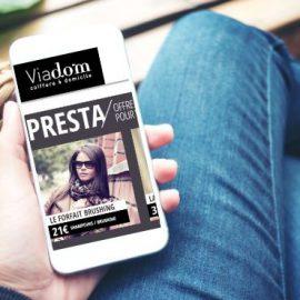 L'apport de clientèle avec Viadom
