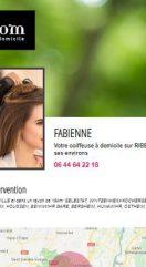 Se faire connaître via les mini-sites web des coiffeuses à domicile