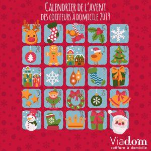 calendrier de l'avent concours Viadom 2019