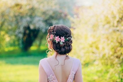 cliente coiffure à domicile mariée - Viadom