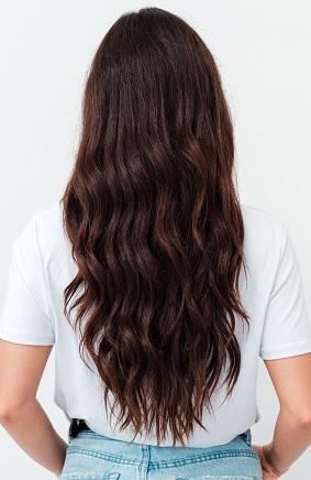 Cheveux bruns longs - Viadom Professionnel