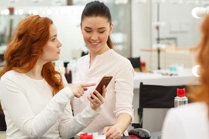 photo modèle coiffure - Viadom Professionnel