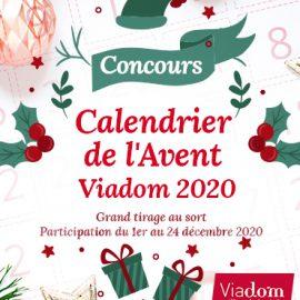 Concours calendrier de l'avent Viadom 2020